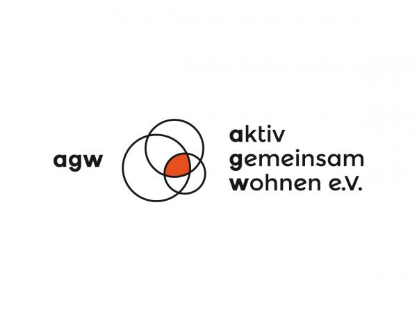 Logodesign für aktiv gemeinsam wohnen e.V., ©Gabriele Stautner, ARTIFOX