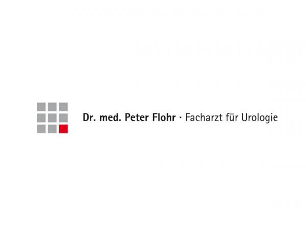 Logodesign für Dr. Flohr, Urologie, Neu-Ulm ©Gabriele Stautner, ARTIFOX
