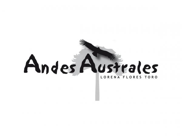 Logodesign: ©Gabriele Stautner, ARTIFOX, Andes Australes, reisen Sie durch Chile unter Leitung von Lorena Flores Toro und Dr. Renate Hirschfelder