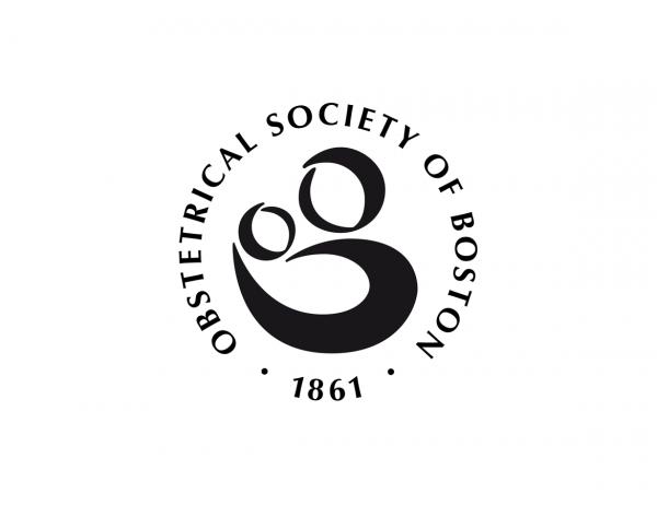 Logo-Design für Obstetrical Society of Boston, die älteste Gesellschaft für Geburtshilfe in den USA. ©Gabriele Stautner, ARTIFOX