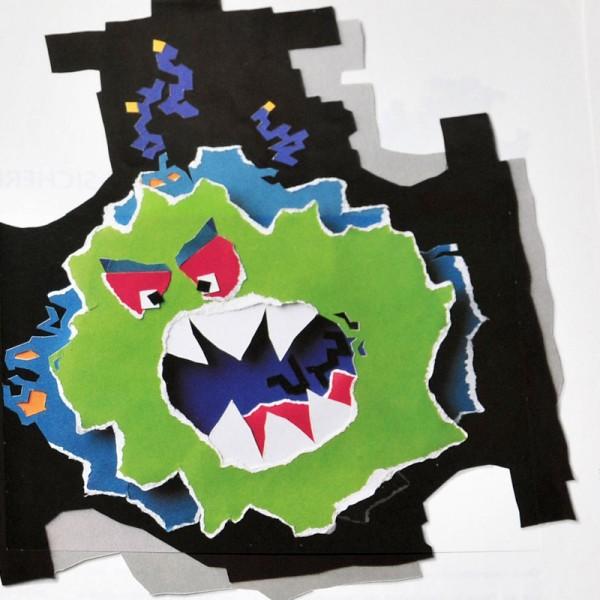 Illustration für Anzeigenserie (mit Rückantwortpostkarte) ARGUS Kugelhähne / Ballvalves Chemicals © ARTIFOX, Gabriele Stautner
