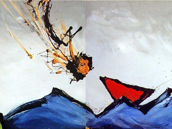 Malerei, Kunst: Aspiration, Gabriele Stautner, ARTIFOX, Ulm,