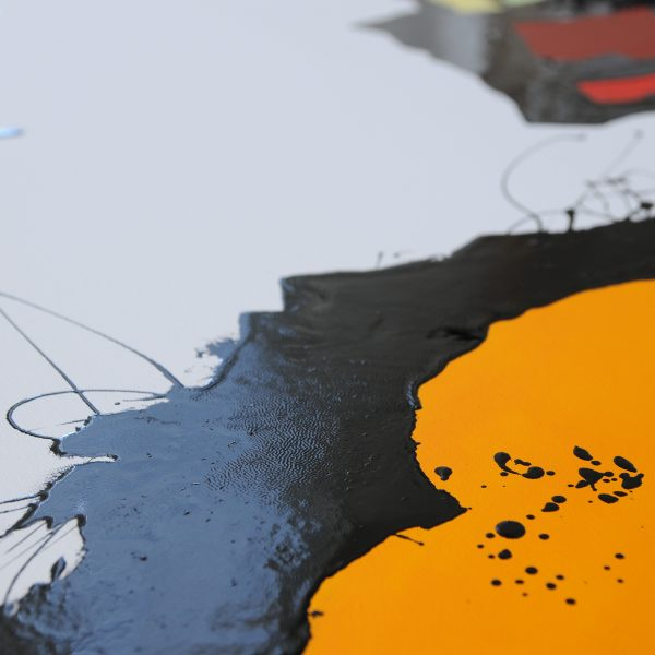 Malerei, Kunst: ©Gabriele Stautner, ARTIFOX, Ulm, Detail
